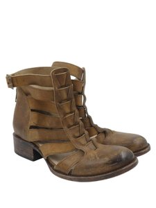 Free Bird Distressed Leather Brown Boots