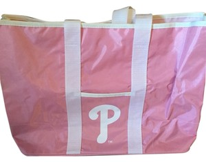 Phillies Tote in Pink