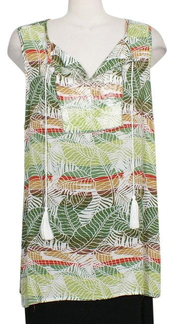 Preload https://img-static.tradesy.com/item/21253624/nanette-lepore-green-tropical-embroidered-beaded-gauze-peasant-1x-blouse-size-20-plus-1x-0-1-650-650.jpg