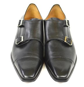 Barneys New York Double Monk Strap
