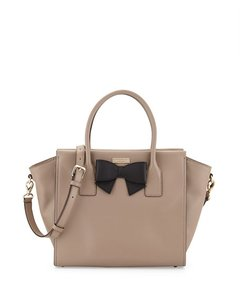 Kate Spade Tote in warm putty/ black