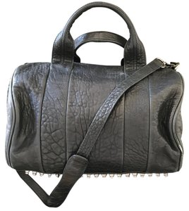 Alexander Wang Satchel in Black/Nickel
