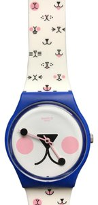 Swatch Swatch Cattitude White (Kitty face) GN241