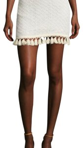 ANINE BING Mini Skirt cream