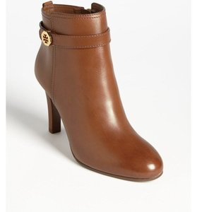 Tory Burch Leather Ankle Brita BROWN Boots