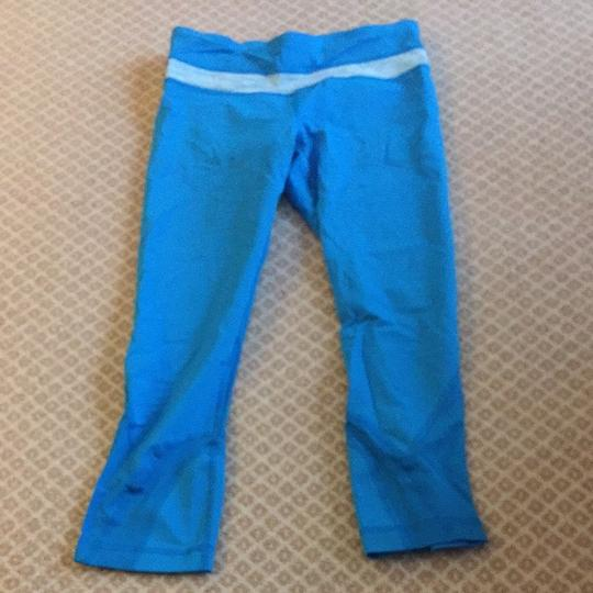 outlet Lululemon Blue Crop Pant