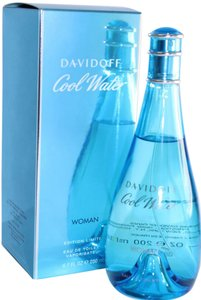 davidoff Cool Water by Davidoff 6.7 oz/ 200 ml EDT Spray Woman's,New.HUGE SIZE""
