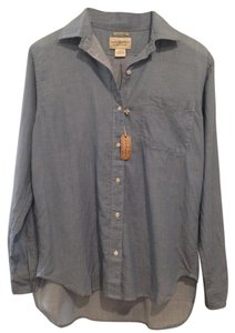 Denim & Supply Button Down Shirt Blue