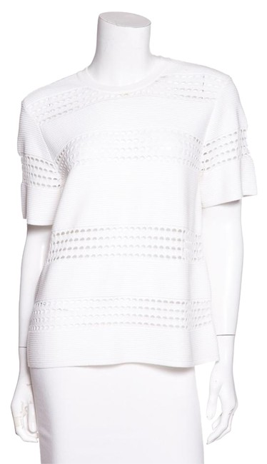 Preload https://img-static.tradesy.com/item/21254298/alc-white-l-ribbed-knit-tee-shirt-size-12-l-0-1-650-650.jpg
