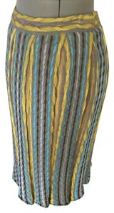 Missoni Skirt grey blue yellow