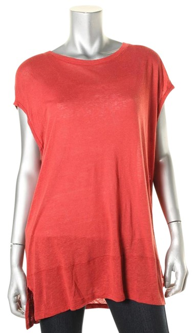 Preload https://img-static.tradesy.com/item/21254491/free-people-brown-1023-womens-red-linen-blend-heathered-tank-shirt-xs-tunic-size-2-xs-0-1-650-650.jpg