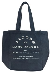 Marc by Marc Jacobs Logo Canvas Tote in Navy Blue