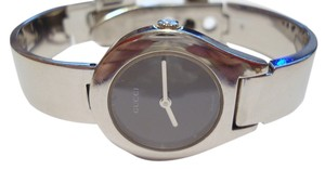 Gucci Gucci Stainless Steel / Silver tone Mirror Watch with Buckle Clasp
