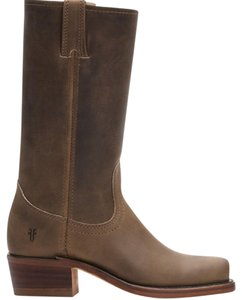 Frye Leather Midcalf Brown Boots