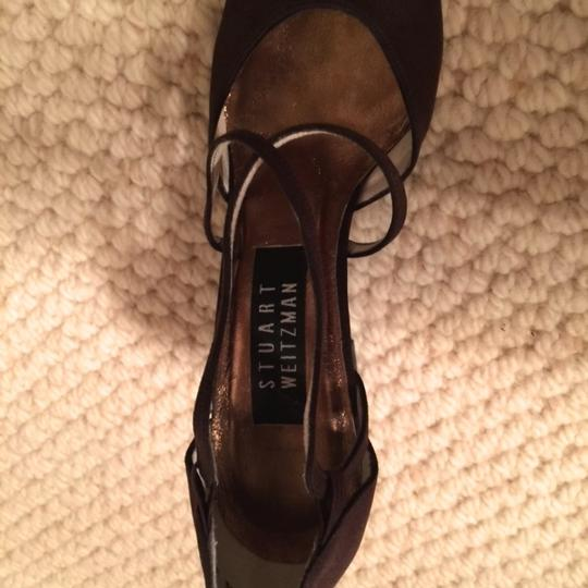 Stuart Weitzman Elegant And Stylish For Day Or Evening Chocolate Brown Pumps