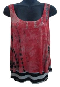 Daytrip Tie Dye Layered Spring Summer New Top Orange