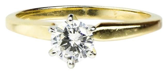 Unbranded Gold 0.50 Carat Solitaire Yellow Ring Unbranded Gold 0.50 Carat Solitaire Yellow Ring Image 1