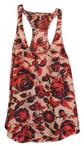 Joie Top Pink, Navy & Red
