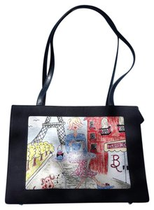 Other Tote in Black Red
