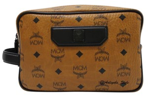 MCM MCM Nomad - Small Visetos' Coated Canvas Travel Bag El Pouch