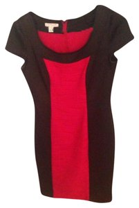 London Style Collection short dress red/black on Tradesy