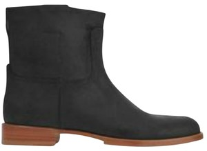 Rag & Bone & Ankle Holly Leather Black Boots