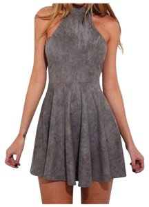 Other short dress Gray on Tradesy