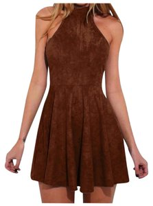 Other short dress Rust Brown on Tradesy