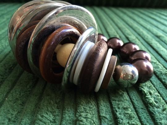 Other Set of 4 Bracelets - Copper, Wood & Bead