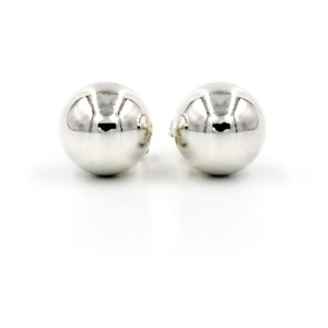 Tiffany & Co. Tiffany & Co. Bead Earrings in Sterling Silver