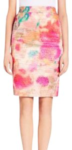 Kate Spade Skirt Pink, Yellow, Green