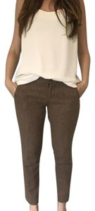 Lands' End Straight Pants Brown