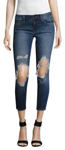 J Brand Cropped Skinny Distressed Skinny Jeans-Distressed