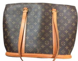Louis Vuitton Vintage Leather Straps Monogram Lv Shoulder Bag