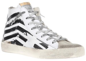 Golden Goose Deluxe Brand black and white Athletic