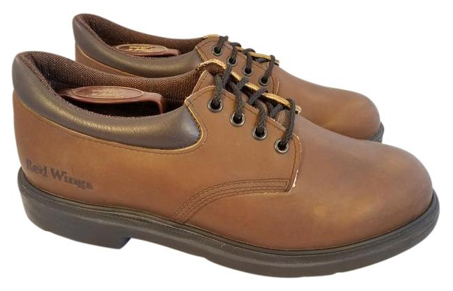 Redwing Brown Man Work Oxfords Formal Shoes Size US 11.5 Regular (M, B) Redwing Brown Man Work Oxfords Formal Shoes Size US 11.5 Regular (M, B) Image 1
