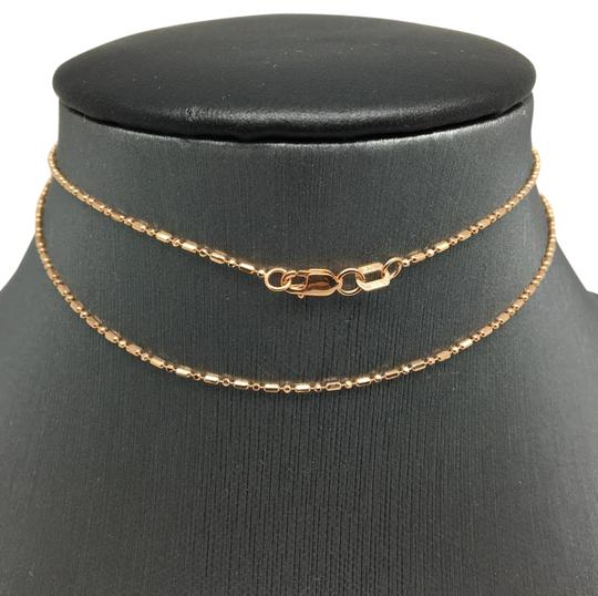 Preload https://img-static.tradesy.com/item/21256148/14k-rose-gold-mix-bead-chain-18-inches-100mm-necklace-0-1-540-540.jpg
