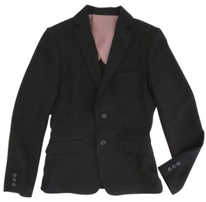 Barneys New York Tailored Career Jacket Fitted black Blazer