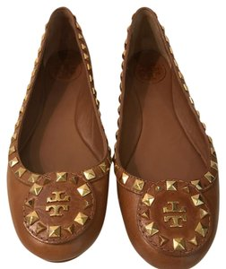 Tory Burch luggage tan Flats