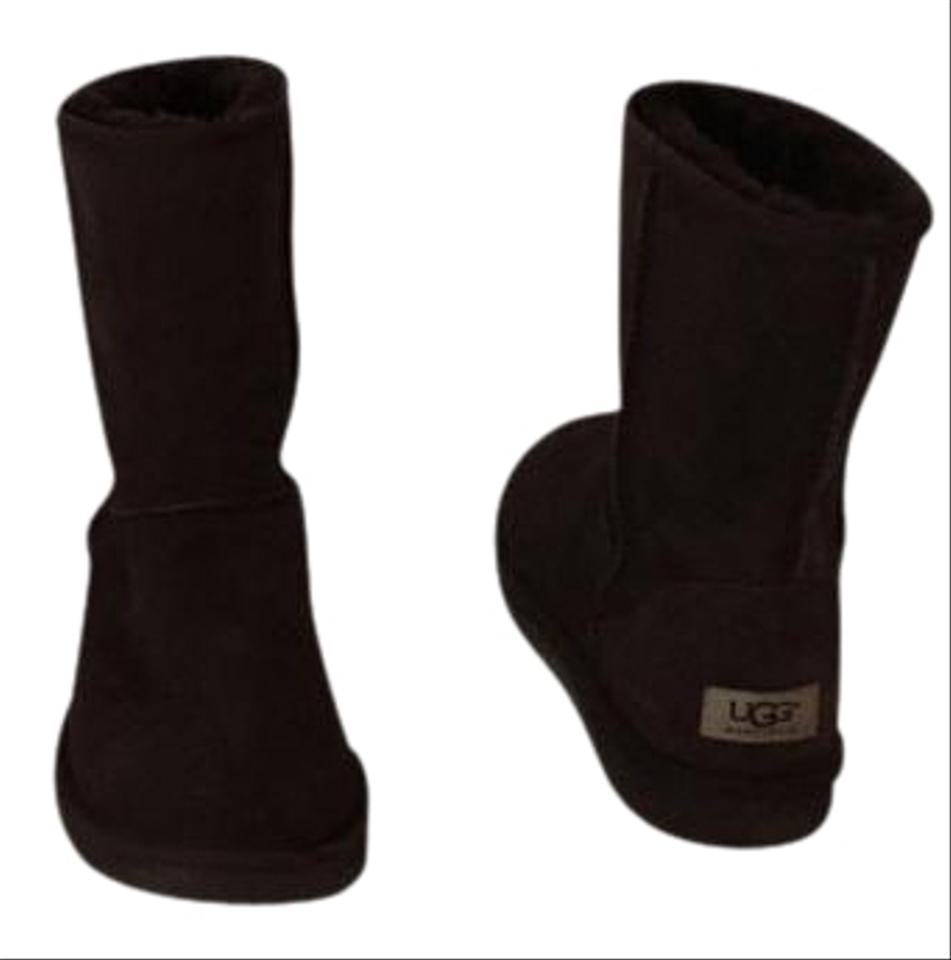 Ugg Australia Dark Brown Short Classic Boots Booties Size Us 8 Regular M B 65 Off Retail