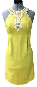 INC International Concepts short dress yellow on Tradesy