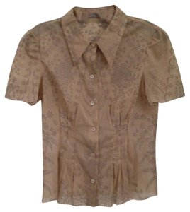 Prada Button Down Shirt Dark Khaki