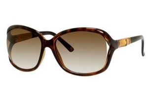 Gucci NEW Gucci Sunglasses GG 3671/S Brown Bamboo Cutout Oversized