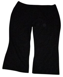 Woman Within Wide Leg Pants black