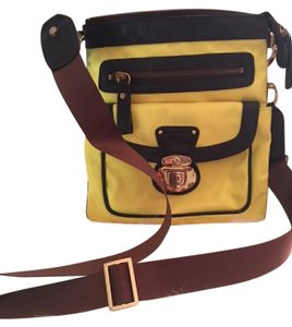 JPK Paris Yellow Massenger Cross Body Bag