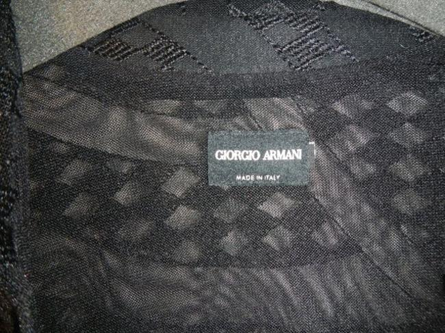 Giorgio Armani Sheer Dress