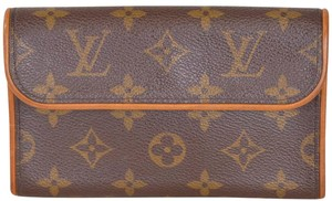Louis Vuitton Monogram Pochette Twin Gm Pouch Cross Body Bag