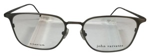 John Varvatos Like New Titanium V151 Gunmetal Eyeglasses