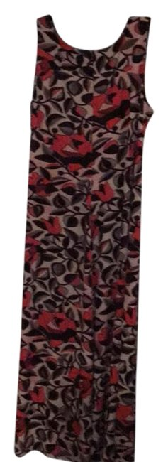 Preload https://img-static.tradesy.com/item/21257043/natori-shades-of-black-red-grey-and-brown-rn89782-long-workoffice-dress-size-28-plus-3x-0-5-650-650.jpg