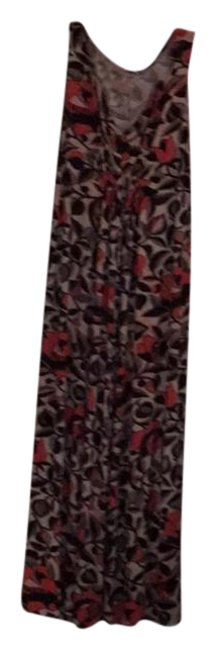 Preload https://item1.tradesy.com/images/natori-shades-of-red-black-brown-and-grey-rn89782-long-workoffice-dress-size-28-plus-3x-21257060-0-4.jpg?width=400&height=650
